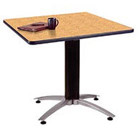 "36"" Square Multipurpose Table - Oak"