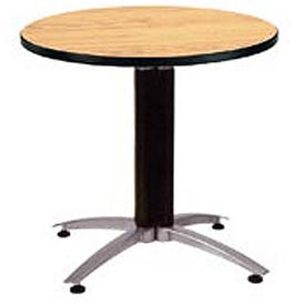 "OFM 42"" Lunchroom Table - Round - Oak"