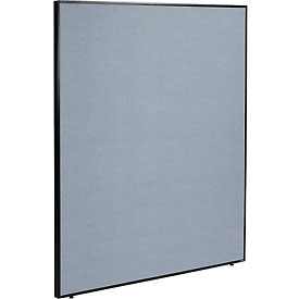 "Interion™ Office Partition Panel, 60-1/4""W x 72""H, Blue"