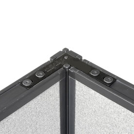 "Interion™ 90 Degree Corner Connector Kit For 72""H Panel"