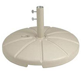 Grosfillex® Resin Outdoor Umbrella Base With Filling Cap, Sand