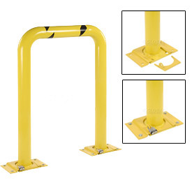 "Removable Steel Machinery Rack Guard 24""H X 36"" L"