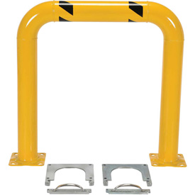 "Removable Steel Machinery Rack Guard 36""H X 36"" L"