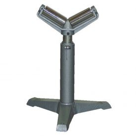 "Vestil Roller V Stand STAND-V with 23"" to 38-1/2"" Height Range 1760 Lb. Capacity"
