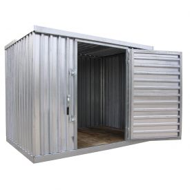 galvanized steel outdoor storage sheds 91 12w x 12