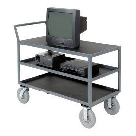 Three Shelf Audio Visual & Instrument Truck 48 x 24 1200 Lb. Capacity