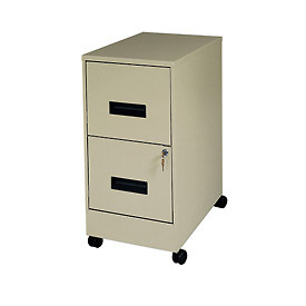 2 Drawer Mobile File-Putty