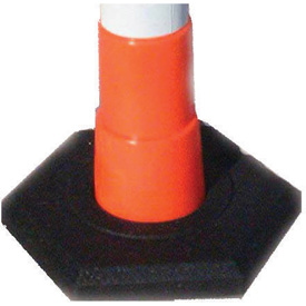 Rubber Base 16 Lb For Navicade Delineator Post, Base Only
