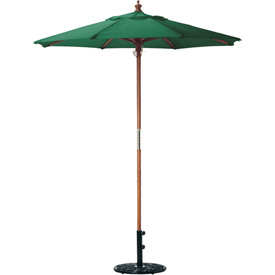Oxford Garden® Market Outdoor Umbrella 9' - (Hunter -poly)