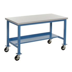 60 x 36 Phenolic Resin Safety Mobile Lab Bench