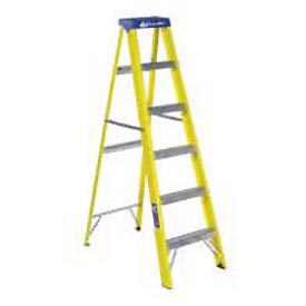 Louisville 8' Fiberglass Step Ladder - 250 lb Cap. - FS2008