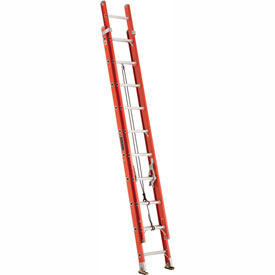 Louisville 20' Fiberglass Extension Ladder - 300 lb Cap. - FE322-0