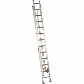 Louisville 24' Aluminum Extension Ladder - 300 lb Cap. - AE2224
