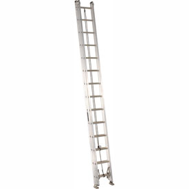 Louisville 28' Aluminum Extension Ladder - 300 lb Cap. - AE2228