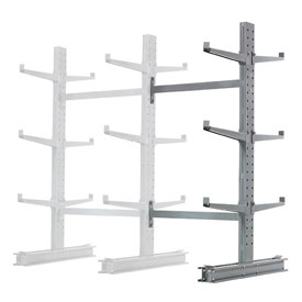 "Cantilever Rack Double Sided, Add-On Unit Medium Duty, 48"" W  x 54"" D x 6' H, 16200 Lbs Capacity"