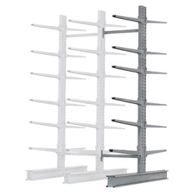"Cantilever Rack Double Add-On Unit Extra Heavy Duty, 72"" W  x 82"" D x 10' H, 31600 Lbs. Capacity"