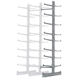 "Cantilever Rack Double Add-On Unit Extra Heavy Duty, 72"" W  x 106"" D x 12' H, 25000 Lbs Capacity"