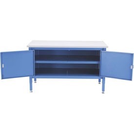 60 x 30 Security Cabinet Bench - ESD Square Edge