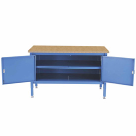 60 x 30 Security Cabinet Bench - Shop Top Square Edge