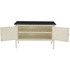 60 x 30 Security Cabinet Bench - Phenolic Resin Safety Edge