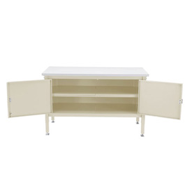 72 x 30 Security Cabinet Bench - Maple Safety Edge