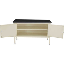 60 x 36 Security Cabinet Bench - Phenolic Resin Safety Edge