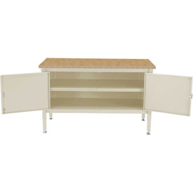 72x 30 Security Cabinet Bench -Shop Top Safety Edge