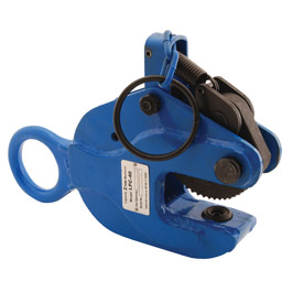 Vestil Locking Vertical Plate Clamp Lifting Attachment LPC-40 4000 Lb. Capacity