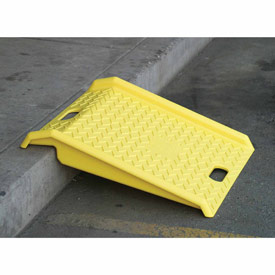 Eagle 1794 Portable Plastic Hand Truck Curb Ramp 1000 Lb. Capacity