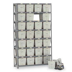 Basket 65830 Rack Locker For 24 Baskets 40x13x79
