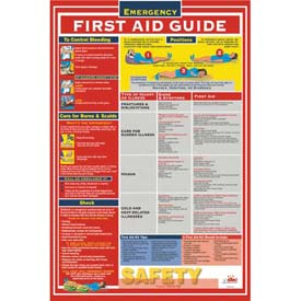 Poster, First Aid Guidefety, 18 x 24