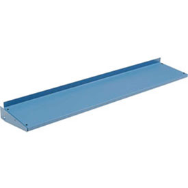 """96""""W x 12""""D Cantilever Shelf For Uprights- Blue"""