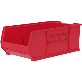 "Akro-Mils Super-Size AkroBin® 30293 - Stacking Bin 16-1/2""W x 29-7/8""D x 11""H Red"