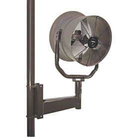 """Triangle Engineering 24"""" Horizontal Mount Fan With Poly Housing 245542 1 HP 5900 CFM"""