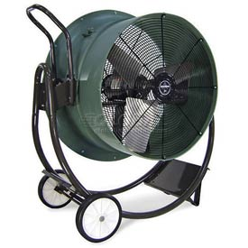 "Triangle Engineering 30"" Portable Blower Fan With Poly Housing HVD3013 1/2 HP 7900 CFM"