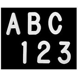 """United Visual Products 2"""" Letters - 290 Pieces"""