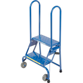 2 Step Lock-N-Stock Folding Ladder - LS2247
