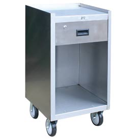Jamco Stainless Steel Mobile Work Stand YD118 with 1 Drawer