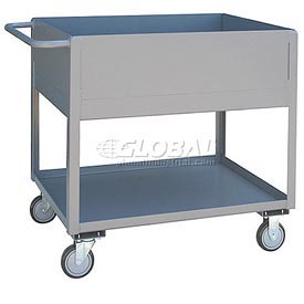 Jamco Extra Deep Shelf All Welded Steel Service Cart NA236 1200 Lb. Cap.