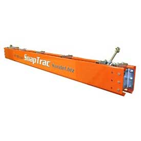 Kundel Industries ST800 8'L SnapTrac Rail Kit with Trolley and Hardware