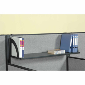 "Hanging Shelf For 60""W Panel - Black"