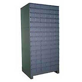 "Durham Steel Drawer Cabinet 026-95 - With 90 Drawers 34""W x 11-3/4""D x  69-1/8""H"