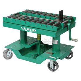 """Optional Roller Conveyor Top 499235 for Lexco® - Wesco® 30""""L x 30""""W Lift Table"""