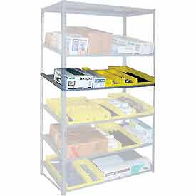 "Sloped Flow Shelving Additional Level 36""W x 24""D Gray"