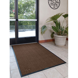 Waterhog Eco Elite Fashion 4' Wide 5 Ft Up To 60 Ft Chestnut Brown