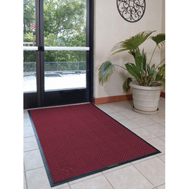 Waterhog Eco Elite Fashion 6' Wide 3 Ft Up To 60 Ft Maroon