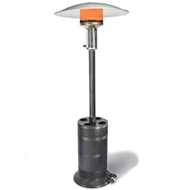 SunStar Patio Propane Heater PHJ40-L6 - 40000 BTU Black/Silver