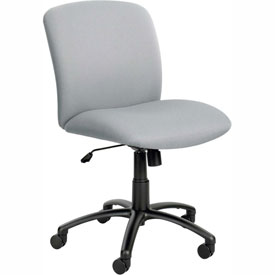 Big & Tall Mid Back Chair Gray
