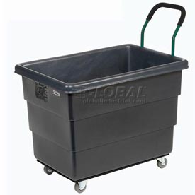 Ergonomic Push Handle for Recycled Plastic Box Trucks Factory Installed Only
