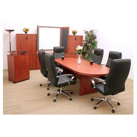 Conference Table Racetrack 120 x 47 Cherry